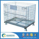A escala de serviço pesado de malha de arame de armazenamento de caixa de metal