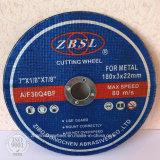 Le découpage des métaux de haute qualité et la meule.