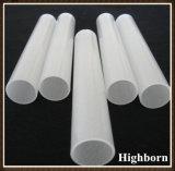 Tubazione Semi-Libera del tubo di vetro del quarzo fuso