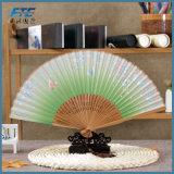 Изготовленный на заказ горячий продавая складной Silk вентилятор бамбука руки 2017