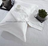 高品質は白いホテルの寝具のホテルの寝具セットを漂白した