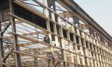 Aprisa instalar el edificio prefabricado del taller de la estructura de acero
