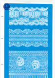 Eyelash rendas para vestuário/capa/sapatos/saco/Caso J020 (largura: 4,5cm-23cm)