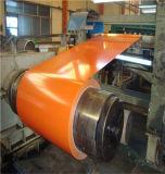 La toiture en métal a enduit la bobine d'une première couche de peinture en acier galvanisée des bobines PPGI