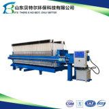 Abwasser-entwässernEdelstahl-Platten-und Rahmen-Filterpresse-Maschine