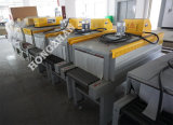 Snelle het Krimpen van de Hitte Verpakkende Machine met het Verwarmen van het Roestvrij staal van de Plaat van de Link van de Rol Pijp voor de Kleine Omslag die van de Film van de Doos van het Karton strak inpakt
