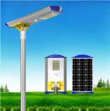 Einfache Installation 10W-80W alle in einem Integrated Solar Street Licht