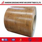 Padrão de madeira e tijolo PPGI