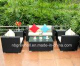 Mobilia stabilita del giardino sofà di vimini/del rattan esterno