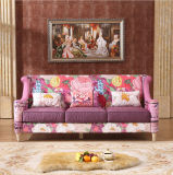 最もよい品質の木製のソファーの家具映像