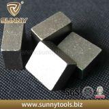 Segment de coupe de diamant à coupe rapide pour pierres de granit en granit calcaire
