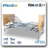 Fonction 5 électrique plié lit de soins infirmiers à domicile