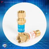 Válvula de verificação do acetileno do oxigênio do prendedor do flashback