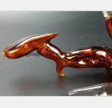 Rote Glaspfeife Filter-Wiederanlauf-Hauben-Zubehör