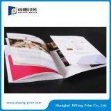 Impressão do catálogo da cor cheia com tampa especial