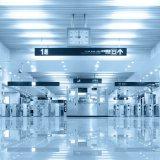 버스 지하철 또는 기차역을%s RFID 카드 판독기 삼각 십자형 회전식 문