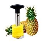 Snijmachine van het Fruit van het Roestvrij staal van het Hulpmiddel van de Ananas van het fruit de Gemakkelijke