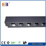 Metallvertikales Kabel-Management mit Drustproof magnetometrischem Deckel-Kabel-Management