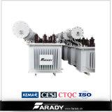 1000kVA трехфазным трансформатор трансформатора 11/0.415kv погруженный маслом