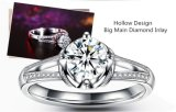 De Ring van de Toebehoren van Bague Bijoux van de Juwelen van Zircon van de AMERIKAANSE CLUB VAN AUTOMOBILISTEN
