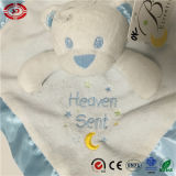 Baby를 위한 파란 Bear Infant Gift Soft Set Blanket