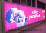 Bannière Montage mural extérieur/intérieur Film rétro-éclairé de la publicité/Banner Slim Boîte à lumière de panneaux LED