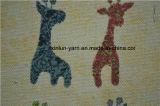 La stampa animale scherza il tessuto di tela grezzo naturale d'abbigliamento di Hudnred
