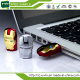 Movimentação relativa à promoção do flash do USB da vara do USB do homem do ferro dos presentes