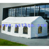 백색 Continental Inflatable Tent 또는 Inflatable 유럽 Palace Tent/Large 유럽 Clear Roof Outdoor Wedding Tent