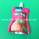 Poche comique avec le sac de empaquetage de boissons faisantes le coin de bec