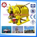 Guincho de tração de ar de 5t com ABS / Cce com grande armazenamento de cabos e força de tração para mineração de carvão