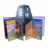 Детей в подарок книги 3D-печати, ручной работы пользовательских книги, рисованные печать всплывающие адресной книги