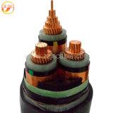 Henena Jinshui XLPE/Cu/CTS/PVC/SWA/PVC, Cable de alimentación, 19/33 Kv, 3/C (BS 6622)