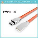 Оранжевый ПВХ Micro-USB 3.0 типа C кабель кабель для зарядки для Android устройств