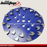 D250мм Стрелка сегмента алмазные шлифовальные диски/абразивные шлифовального круга