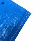 De blauwe Zakken van de Opslag van de Korrel van de Kleur 25kg pp Geweven