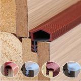 Sello de goma flexible/suavemente de EPDM de ajuste de la tira para la puerta de madera