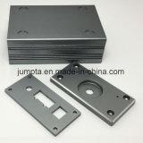 Caja audio del metal del amplificador de potencia de Digitaces que estampa los componentes del corte del CNC de las piezas, cubierta de aluminio del amplificador de potencia de Subwoofer