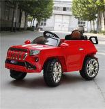 Asiento de cuero de color de tres hijos paseo en coche eléctrico con la función de balanceo