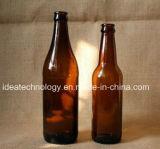 Fabrik-direkte bernsteinfarbige Glas300ml bierflasche mit Schutzkappe, Glasflaschen