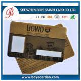 Cartão de fidelidade de membro com impressão em relevo e 4c