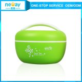 Custom poco costoso Plastic Crisper Fresh Round Food Container per Kids