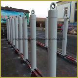 Usado para o caminhão de Tipper/o cilindro hidráulico única reconstrucção ativa de vários estágios