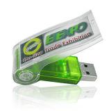 Mecanismo impulsor del flash del USB del eslabón giratorio, 10 años de retención de los datos, capacidad plena