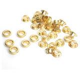金属は衣服のための高品質の真鍮アイレットにボタンをかける