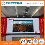 Schermo flessibile della tenda del video LED di alta luminosità