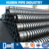 Neues heißes Verkaufs-flexibles Polyverbinder HDPE doppel-wandiges gewölbtes Rohr