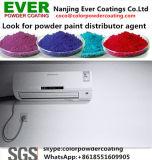 白いカラーRal9003粉のペンキを使用してスムーズな光沢のあるエポキシポリエステル内部