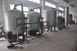 Reines Wasser, das Maschine für Tafelwaßer herstellt