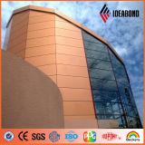 1220*2440mm 외부 벽 훈장 두바이에 있는 알루미늄 벽 클래딩 위원회